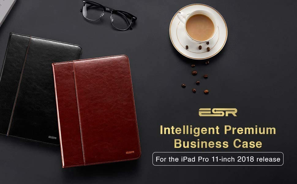 iPad Pro 11 hoes Premium leer bruin