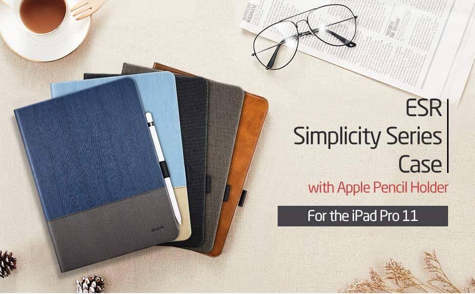 iPad Pro 11 hoes design grijs