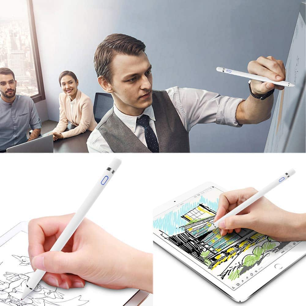ipad active stylus pen zwart