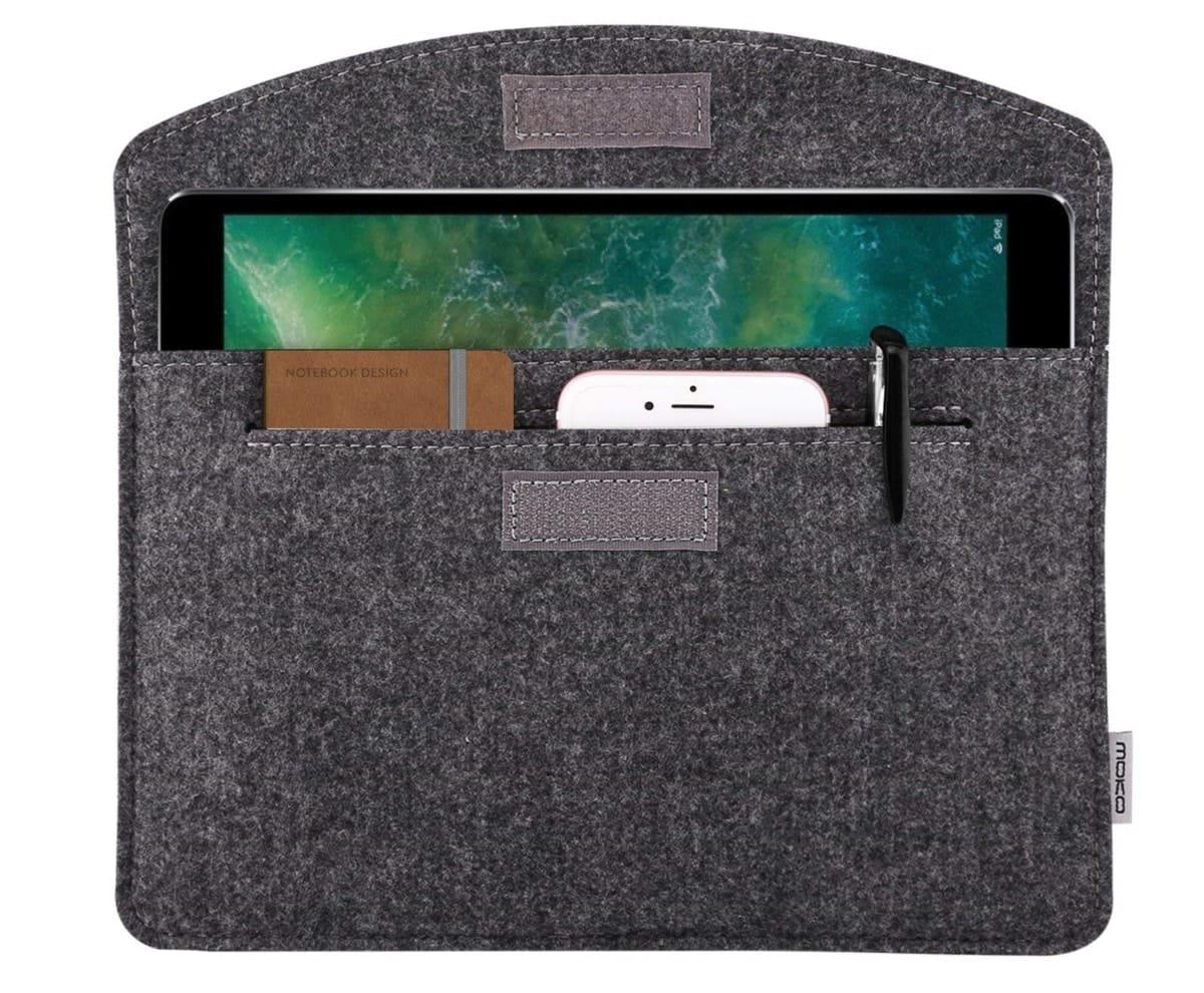 iPad 2018 sleeve grijs