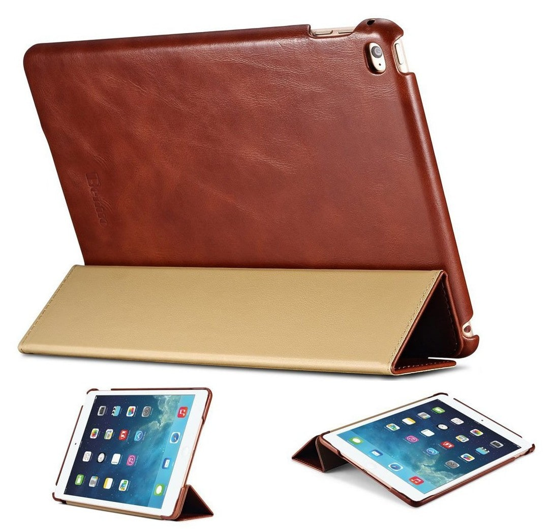 iPad Smart Cover Leer Zwart