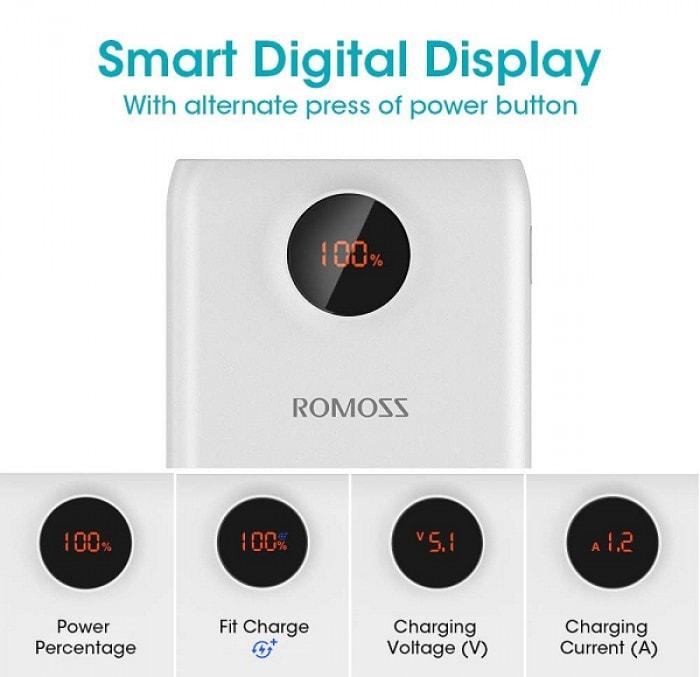 Romoss SW20 Pro Powerbank (20000mAh)