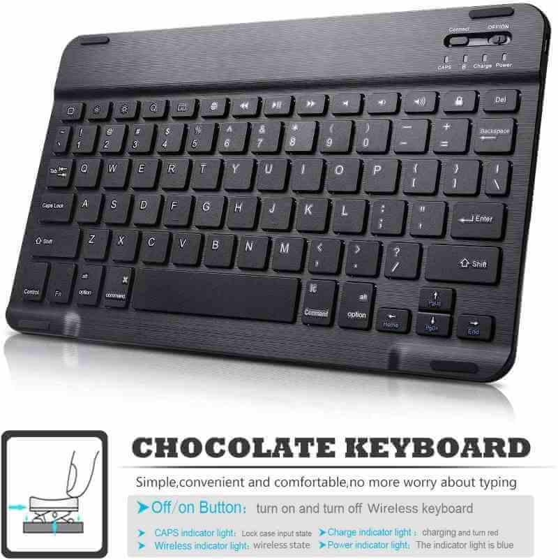 iPad Pro 11 Inch 2020 hoes met afneembaar toetsenbord zwart