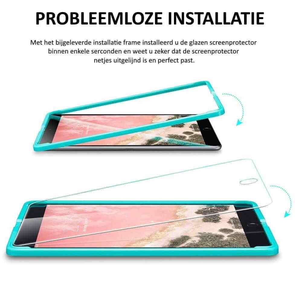 ESR iPad Pro 11 inch (2018 & 2020) Screenprotector (Glas) met installatie frame