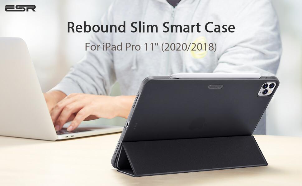 iPad Pro 11 2020 2018 ESR Smart Cover Case staand